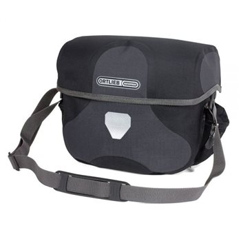 Ortlieb Ultimate6 Plus 7L Granite/Black  - Click to view a larger image