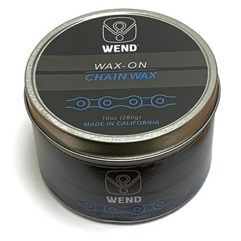 Wend Performance Wax-On Chain Lube - 10 Ounce Bulk Tin  - Click to view a larger image
