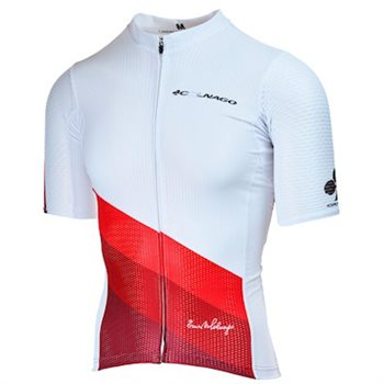 Colnago Sanremo Pro Short Sleeve Jersey - White 2019  - Click to view a larger image