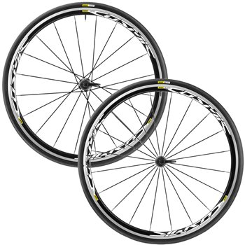 Mavic Cosmic Elite UST Wheelset - White Label  - Click to view a larger image