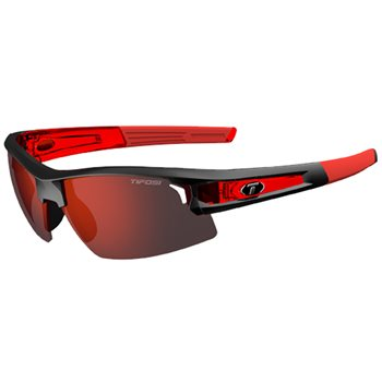 Tifosi Synapse Race Red/ Clarion Red Interchangeable Lens Sunglasses  - Click to view a larger image