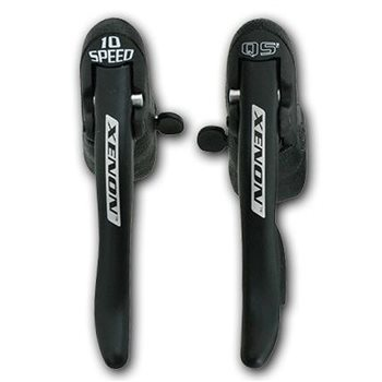 Campagnolo Xenon 10 Speed Ergopower Levers with Cables and casings  - Click to view a larger image