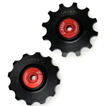 C-Bear Ceramic Derailleur Pulleys For 12 Speed Campagnolo   - Click to view a larger image