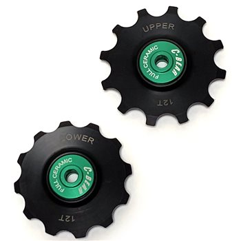 C-Bear Full Ceramic Derailleur Pulleys For 12 Speed Campagnolo   - Click to view a larger image