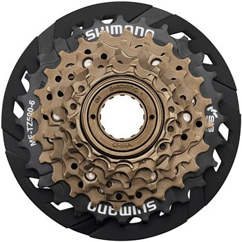 Shimano Tourney Freewheel  - 6 Speed  - Click to view a larger image