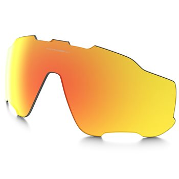 Oakley Jawbreaker Fire Iridium Polarized Spare Lens  - Click to view a larger image