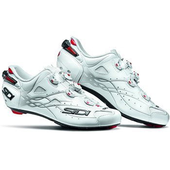 Sidi Shot Road Cycling Shoes - White  - Click to view a larger image