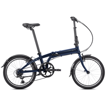 Tern Link A7 20 Inch Folding Bike - Midnight Blue  - Click to view a larger image