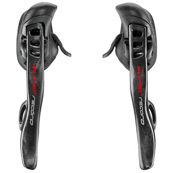 Campagnolo Super Record 12 Speed EPS Ergo Levers  - Click to view a larger image