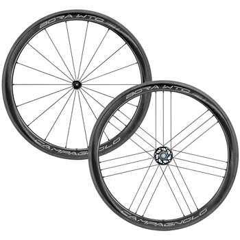 Campagnolo Bora WTO 45 2-Way Fit Clincher Wheelset  - Click to view a larger image