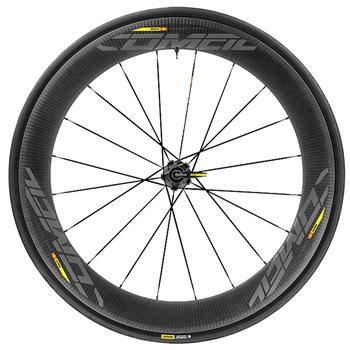 Mavic Comete Pro Carbon UST Wheelset - 2020 2020 Mavic Comete Carbon USR front and rear wheels. - Click to view a larger image