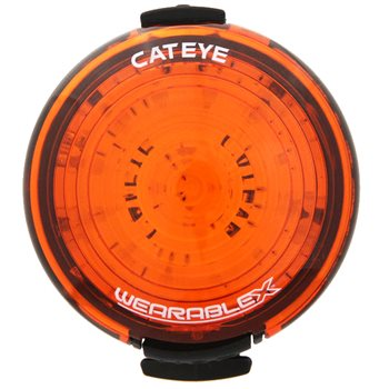 Cateye Wearable X USB Rechargeable Clip-On Light  - Click to view a larger image