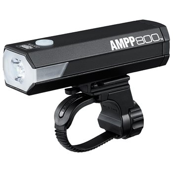 Cateye Ampp 800 USB Rechargeable Front Light  - Click to view a larger image