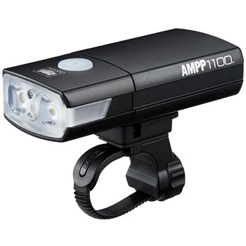 Cateye Ampp 1100 USB Rechargeable Front Light  - Click to view a larger image