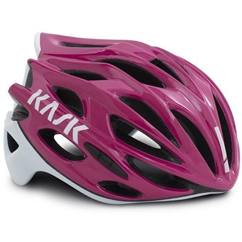 Kask Mojito X Cycling Helmet - Iris & White  - Click to view a larger image
