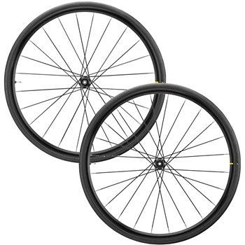 Mavic Aksium Elite Evo UST Centre Lock Disc Wheelset - 2020  - Click to view a larger image