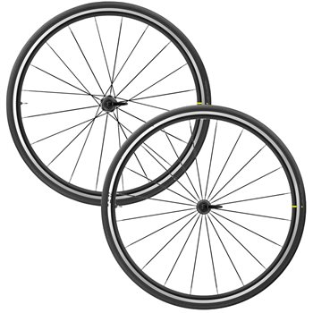 Mavic Aksium Elite Evo UST Rim Brake Wheelset - 2020  - Click to view a larger image