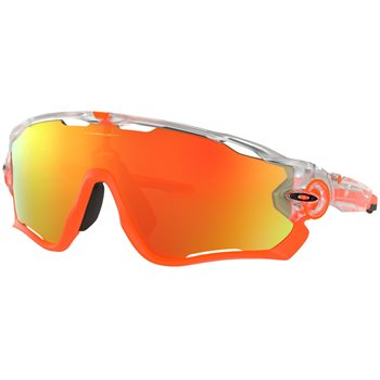 Oakley Jawbreaker Crystal Pop Fire Iridium  - Click to view a larger image