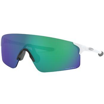 Oakley Evzero Blades - Matte White / Prizm Jade Iridium  - Click to view a larger image