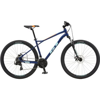 GT Aggressor Sport 27.5 Inch MTB - Blue  - Click to view a larger image