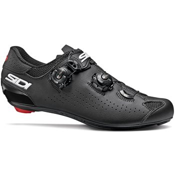 Sidi Genius 10 Road Cycling Shoes - Black  - Click to view a larger image