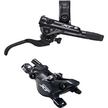 Shimano BR-M8100 XT bled I-spec-II compatible Brake Lever and Caliper.  - Click to view a larger image