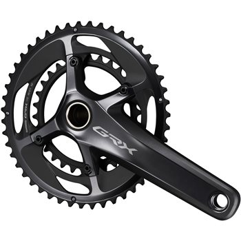 Shimano GRX RX810 11 Speed Double Crankset  - Click to view a larger image