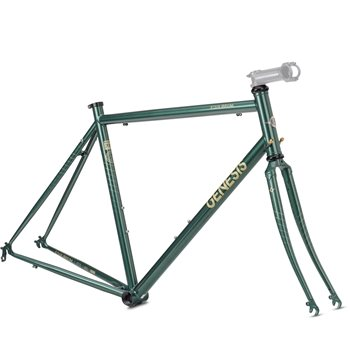Genesis Equilibrium 725 Steel Frame & Steel Fork - Green  - Click to view a larger image