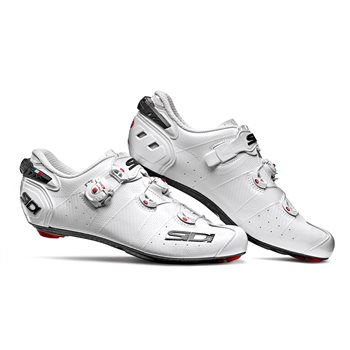 Sidi Wire 2 Carbon Road Cycling Shoes - White  - Click to view a larger image