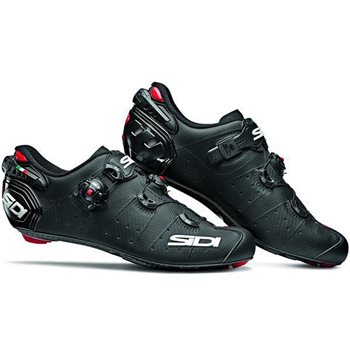 Sidi Wire 2 Carbon Road Cycling Shoes - Matt Black  - Click to view a larger image