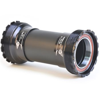 Wheels Manufacturing T47 Threaded Bottom Bracket - Inboard Angular Contact Bearings  - Click to view a larger image