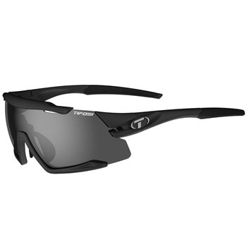 Tifosi Aethon Interchangeable Lens Sunglasses - Matt Black  - Click to view a larger image
