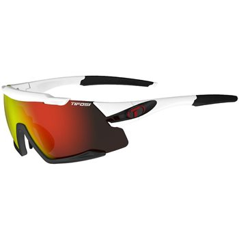 Tifosi Aethon Interchangeable Lens Sunglasses - White & Black  - Click to view a larger image