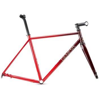 Genesis Volare 853 Disc Steel Frame & Fork - Red  - Click to view a larger image