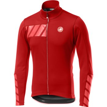 Castelli Raddoppia 2 Jacket - Red  - Click to view a larger image