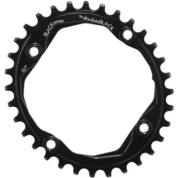 absoluteBLACK MTB Oval Narrow Wide Chainring For 104 BCD Cranks  - Click to view a larger image