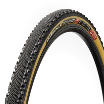 Challenge Handmade Gravel Grinder Clincher Tyre - Tubless Ready  - Click to view a larger image