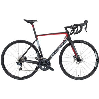 Colnago V3 Ultegra Disc Brake Road Bike - Black & Red  - Click to view a larger image