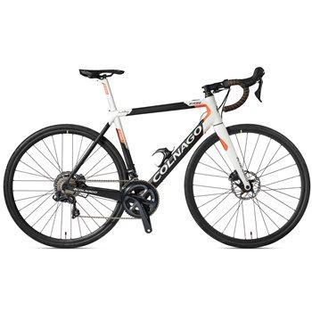 Colnago E64 Carbon E-Bike - Black, White & Orange  - Click to view a larger image