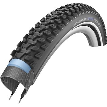 Schwalbe Marathon Plus MTB Tyre With Refelective Side 1