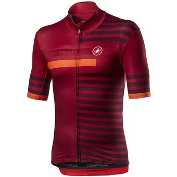 Castelli Mid Weight Pro Jersey- Red  - Click to view a larger image