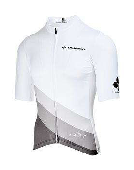 Colnago Colnago Costanza Short Sleeve Jersey - White 2019  - Click to view a larger image