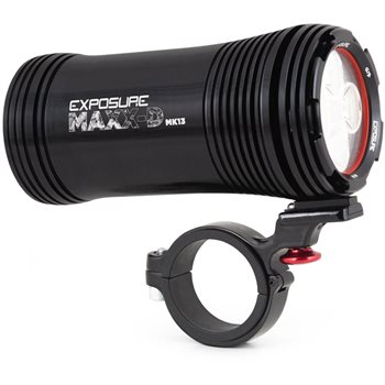 EXPOSURE MAXX-D Mk13 Front Light - 4000 Lumen  - Click to view a larger image