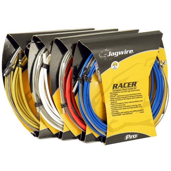 Jagwire Racer Complete Road Bike Brake/ Shift Cable Set 1