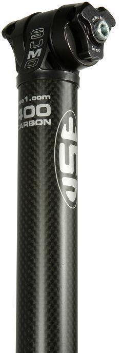 USE Sumo Seatpost - 3K Matt Carbon 1