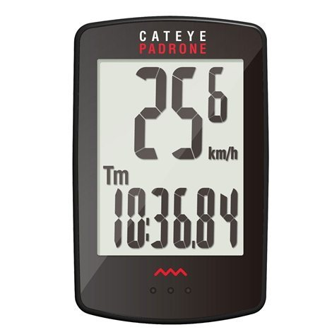 Cateye Padrone Large Screen Wireless Bicycle Computer  1