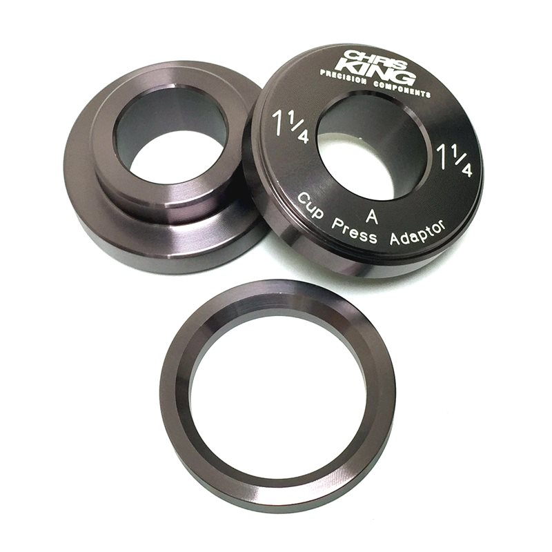 Chris King Press Fit Tool for 1 1/4 Inch Headset / 30mm Bottom Bracket 1
