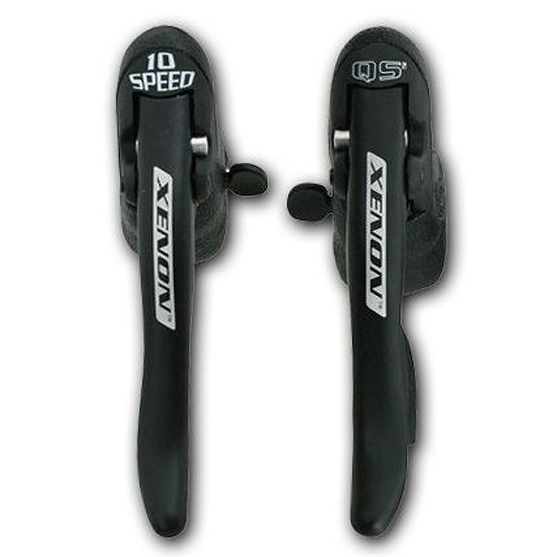 Campagnolo Xenon 10 Speed Ergopower Levers with Cables and casings 1